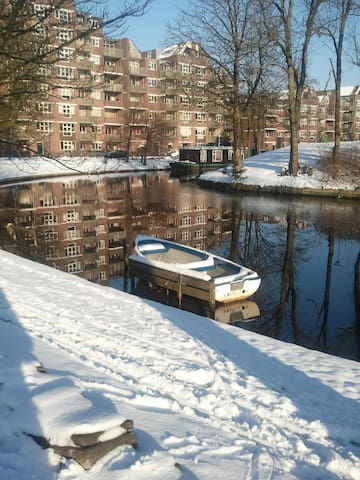 Cozy apartment on the canal