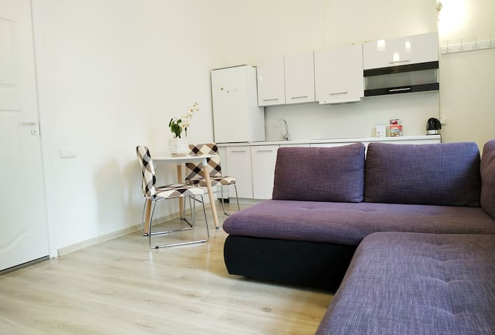 Enjoy Vilnius on Foot: Gediminas Avenue Cozy Apt