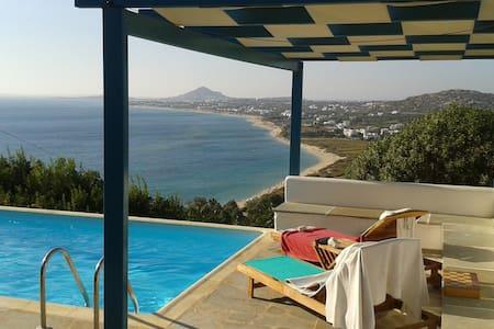 Naxos Seaside Getaway - Villa