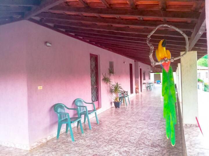 Chácara Vovô Donivaldo, Casa de férias Mineira