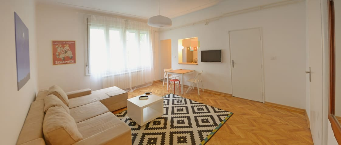 Warm Downtown Belgrade 1-bedroom