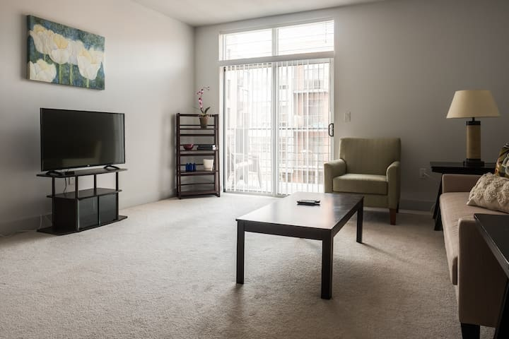 3RD WARD 1BR NEAR FESTIVALS W PATIO & FREE PARKING - Milwaukee - Leilighet