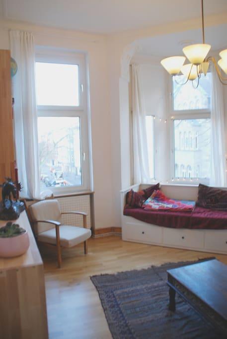 Wohnzimmer/Schlafzimmer