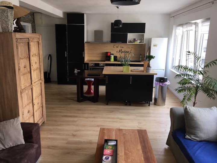 Apartment 2 rooms. Near Center and train station