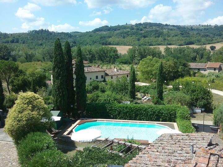 """Casale LA FORNACE nel Chianti, """"La Loggia"""""""