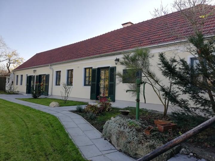 Ruhiges Landhaus an den Donau-Auen