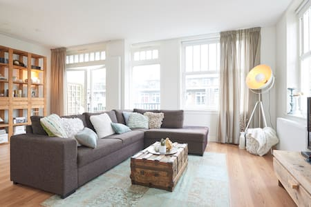 Spacious&Trendy 2floor apartment + big roofterrace - Apartment