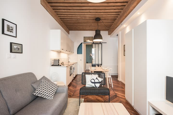 Charming renovated apartment - city center