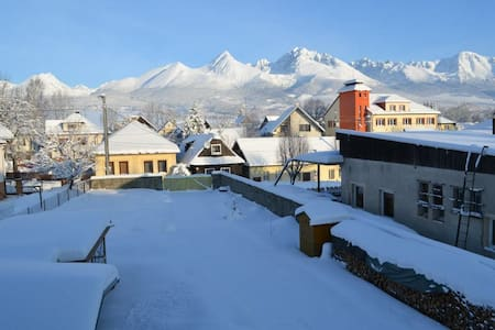 Apartment with great mountain view - Mengusovce