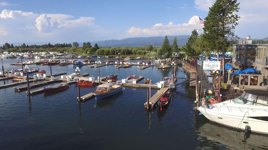 Tahoe Keys Marina View + Ski Heavenly or Sierra