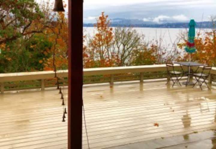 Seattle Above Lake Washington