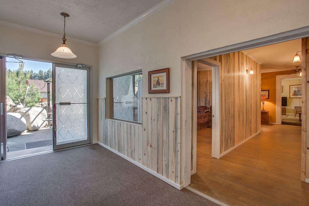 Lodge Entry, Foyer & Main Hall
