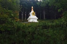 The Stupa Walking Trail, Gampo Abbey, Pleasant Bay