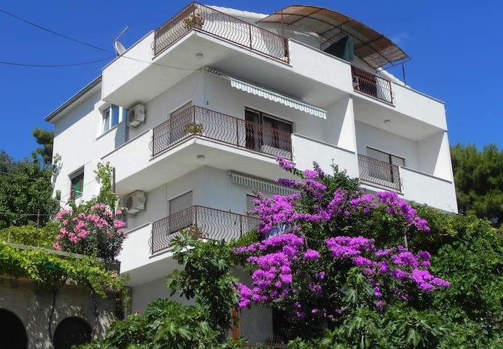 Studio apartment Stanka - cozy and pleasant apartments : SA2(2+1) Duce, Riviera Omis
