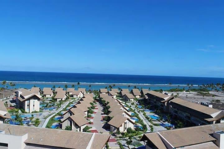 Flat 2Qts Nui Supreme Beach Living - Muro Alto