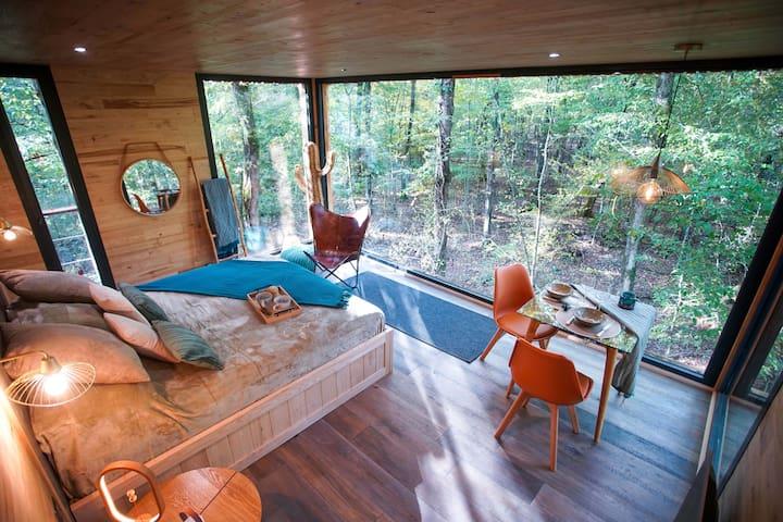 Lodge O'Plumes avec bain relaxant privé