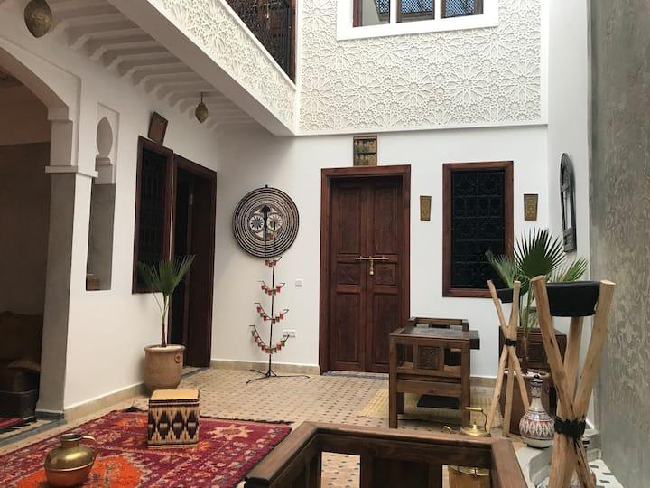 Riad Marchica, Un havre de paix et de tranquillité