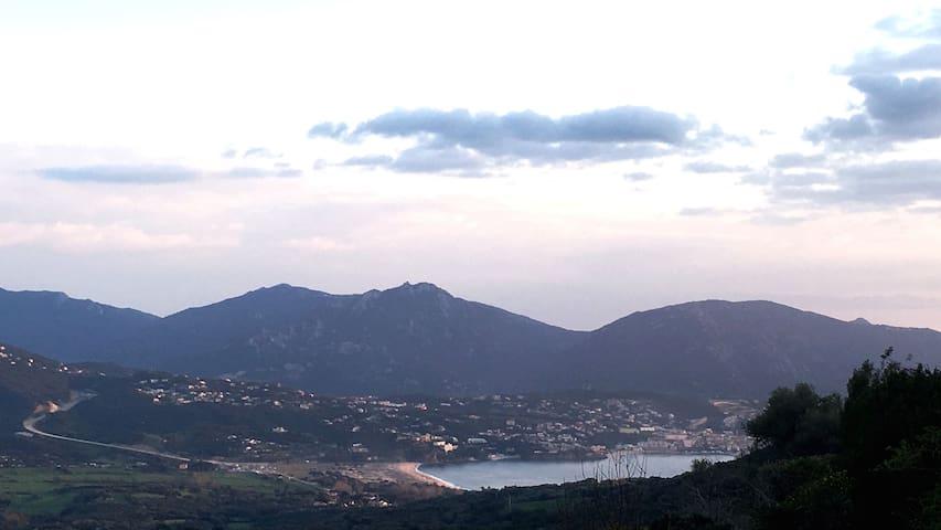 T3 vue sur le golfe du Valinco - Olmeto - Pis