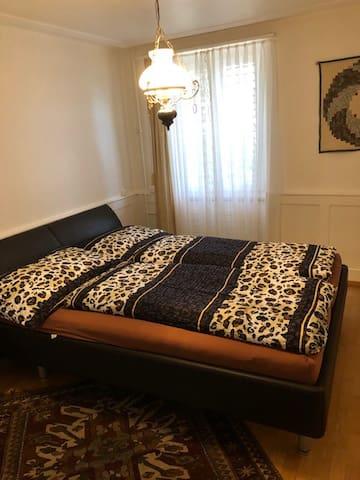 Schlafzimmer Sichtweise 1