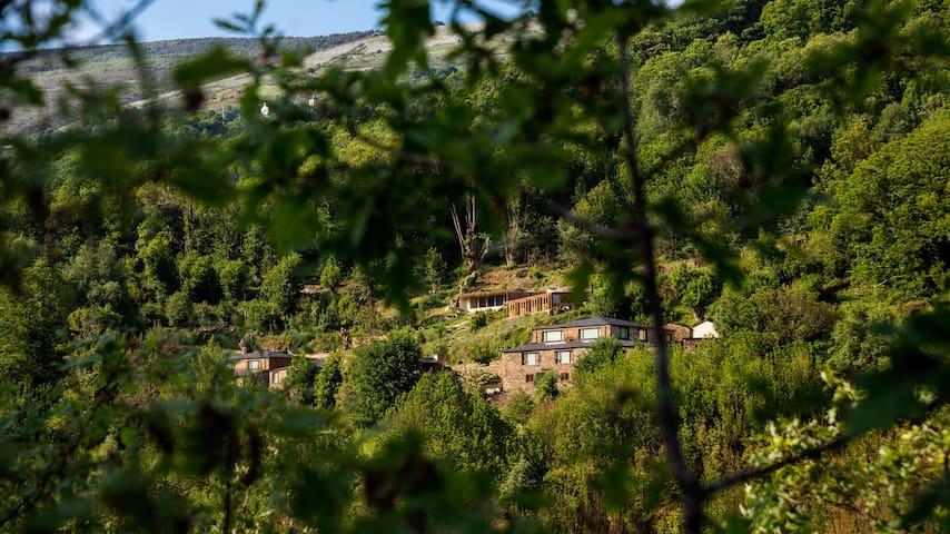 Aldea rural O Mazo