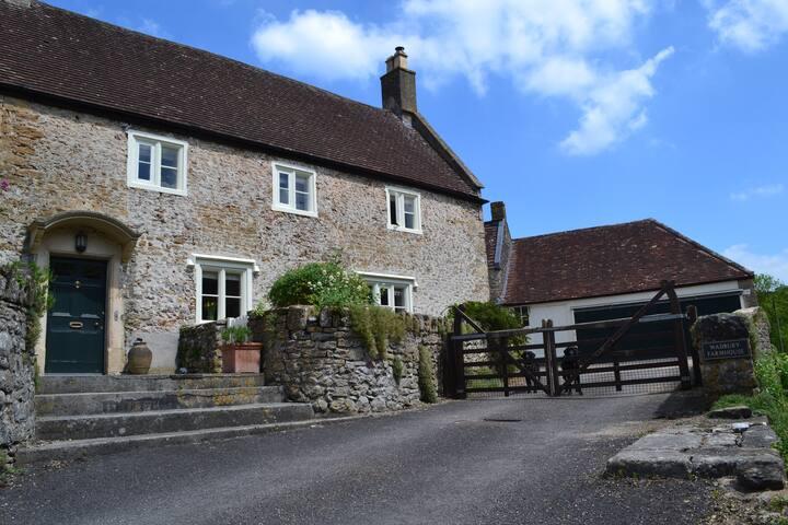 Wadbury Farm House,Mells - near Bath and Longleat.