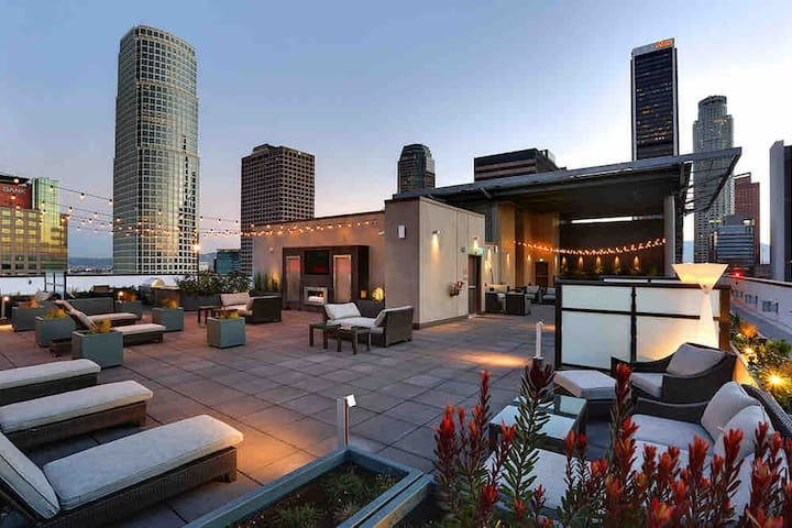 1 Bedroom DTLA Penthouse Apartment