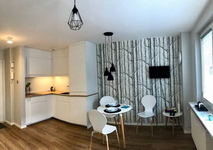 InTrust center Warsaw apartment - studio