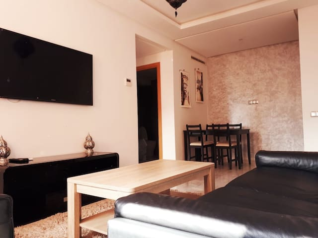 2 beds modern & private Appartement Marrakech