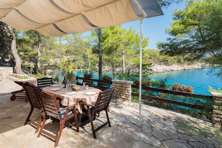 The best terrace on island Hvar