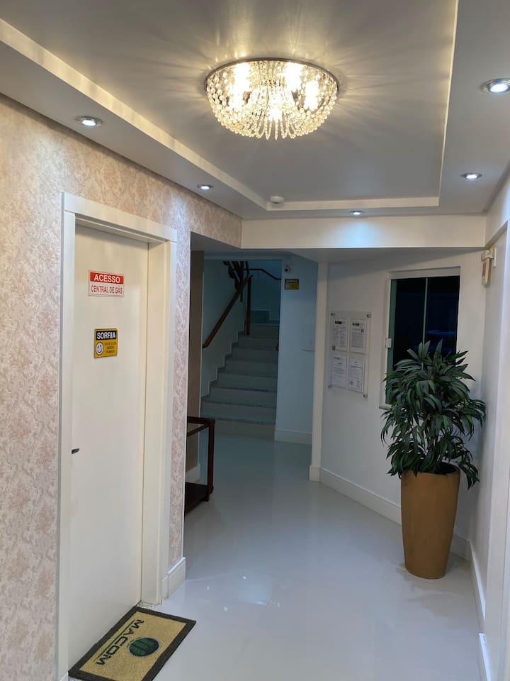 Excelente apartamento - 2 dormitórios com churras
