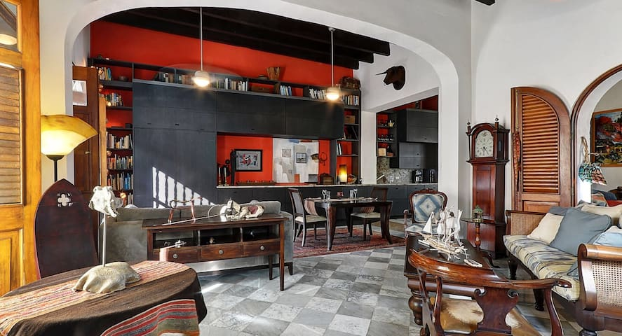 Colonial home in historic Old San Juan - Sant Joan - Casa