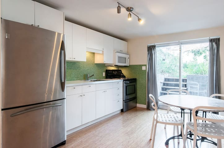 Comfortable, fully equipped apartment in Montreal
