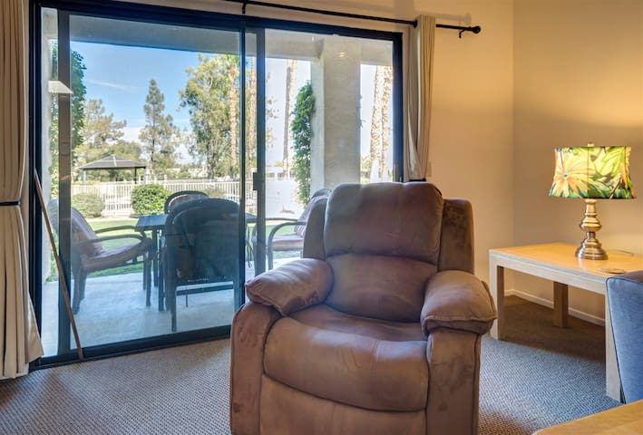 Two Cozy Recliners
