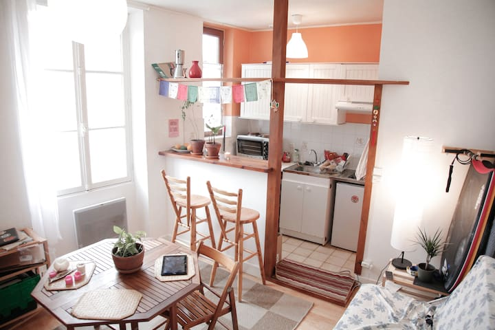 Comfy 30m2 Flat close to the beach and city center - Biarritz - Byt