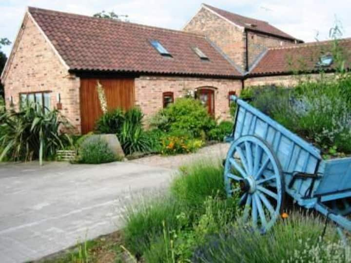 The Barn, victorian barn conversion on quiet farm
