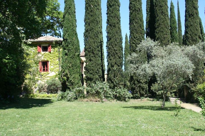 Bastide Toscane proche d'Uzes - Vers-Pont-du-Gard - Casa de vacances