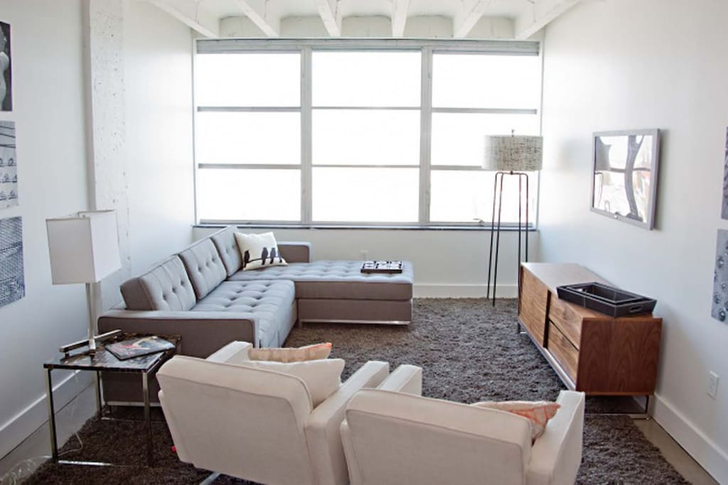 Living Room at The Drayton Towers by Stay Alfred