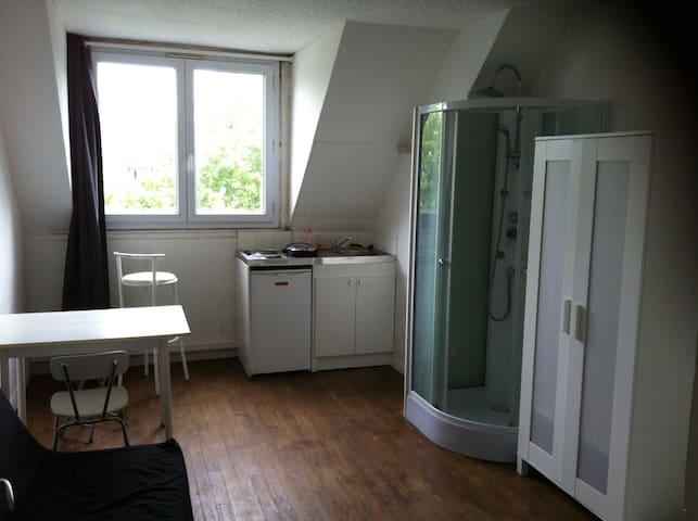 GRANDE STUDETTE MEUBLEE IMMEUBLE CALME HYPERCENTRE - Caen - อพาร์ทเมนท์