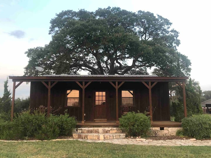 Cabin on working cattle ranch