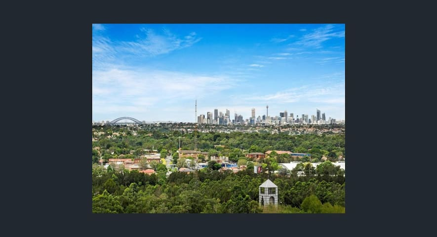 Great city views located at Sydney Olympic Park - Sydney Olympic Park - Apartment