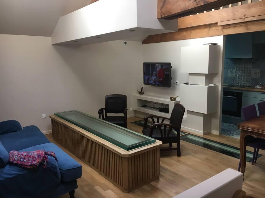 Chambre 3 places dans appartement atypique appartements for Appartement atypique 94