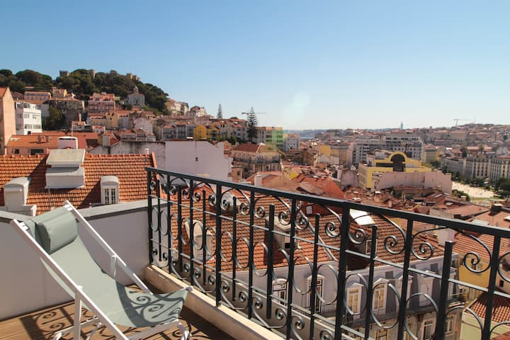 The best terrace and view of Lisbon