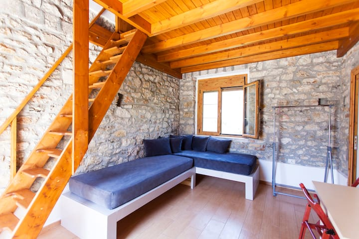 cute loft in the centre 50meters from beach