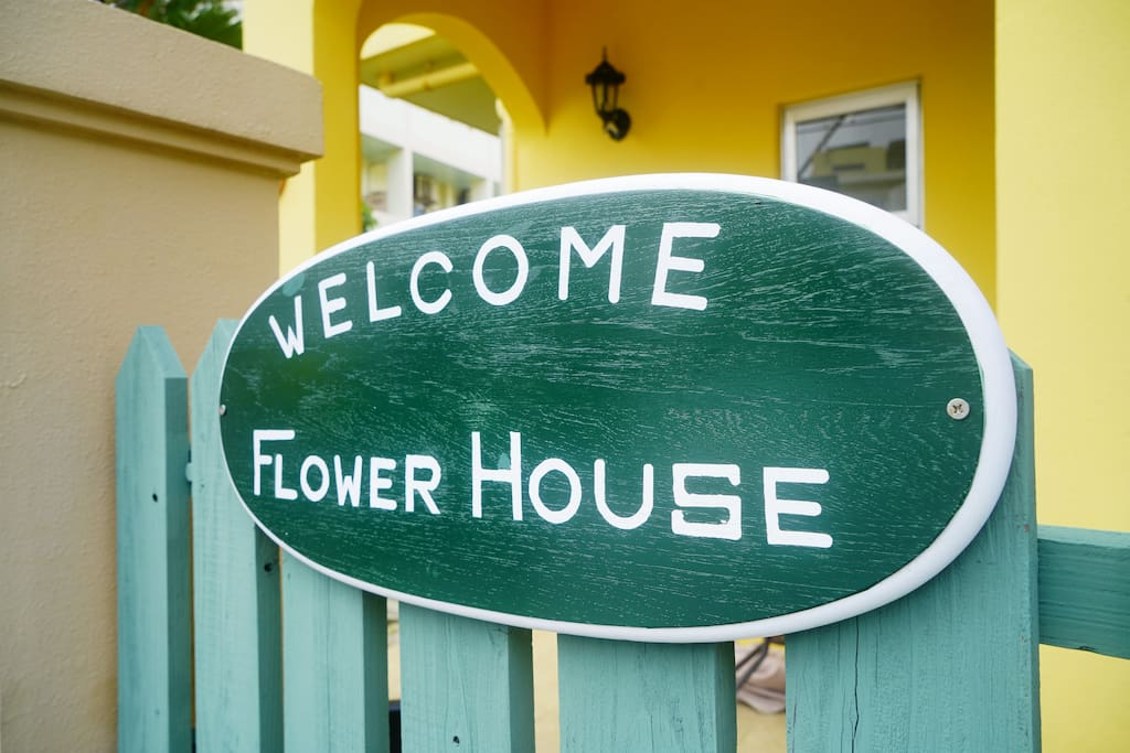 Welcome Flower House!!