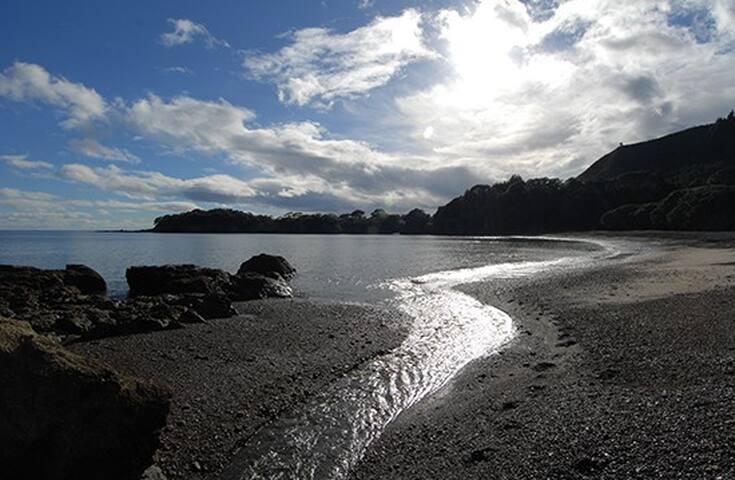 Maraehako Bay Beach