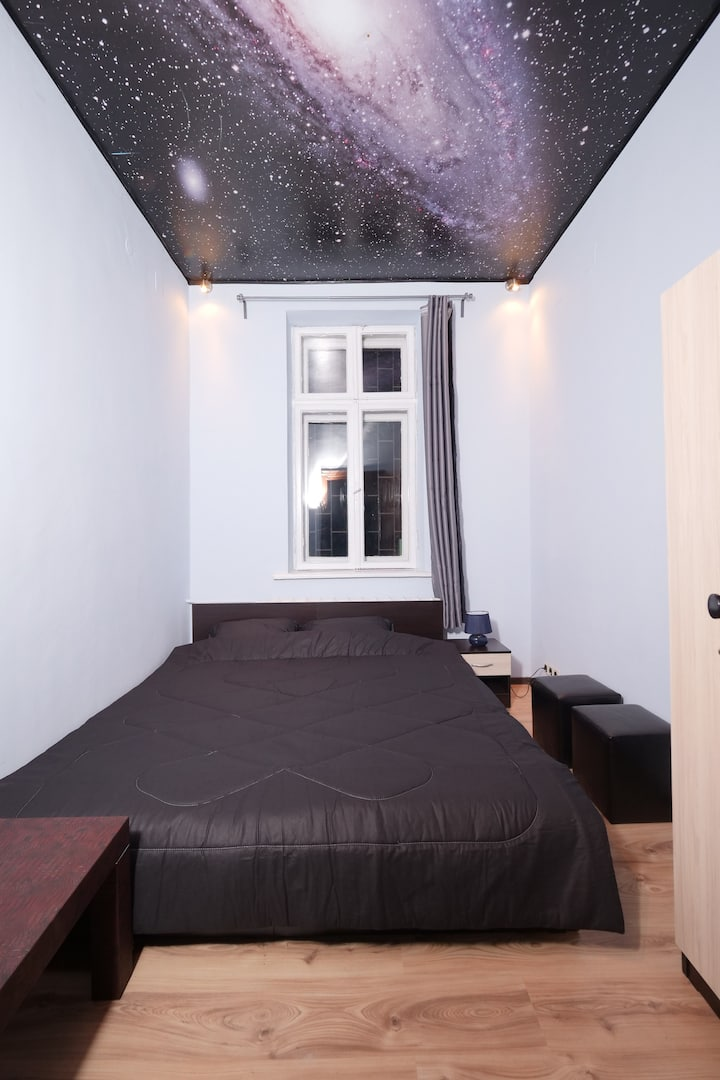 TOP center - Andromeda Galaxy room$