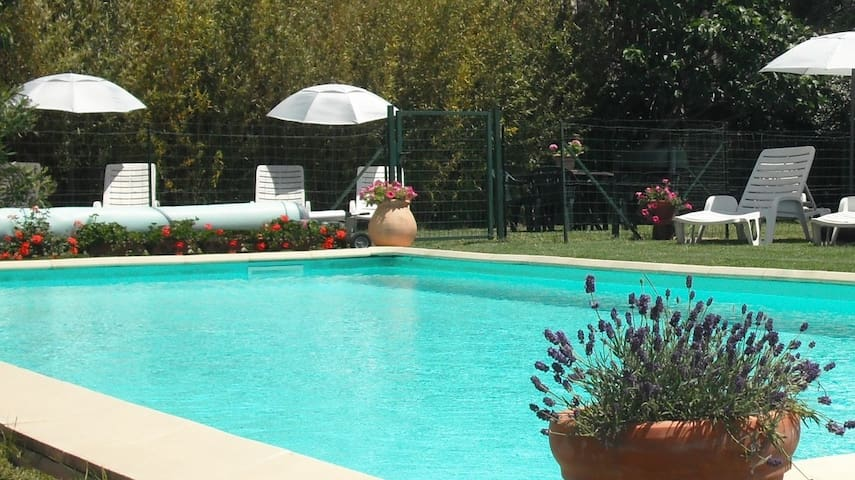 Gite 2: 4/6 pers heated pool, 5miles Carcasonne - Ventenac-Cabardès - Apartment