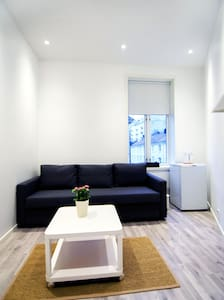 Great, practical room, close to city centre,Room D - Bergen - Appartement