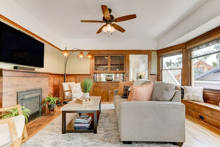 Golden Hill Craftsman Remodeled Retreat Bungalow