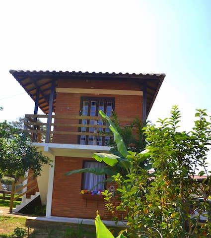 Suites 2 a 20m  da lagoa Ibiraquera - Imbituba - Daire